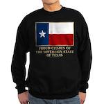 Texas Proud Citizen Sweatshirt (dark)