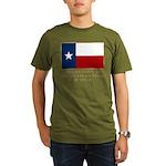 Texas Proud Citizen Organic Men's T-Shirt (dark)