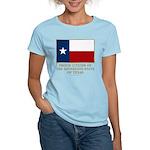 Texas Proud Citizen Women's Light T-Shirt