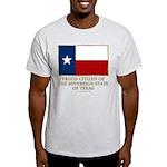 Texas Proud Citizen Light T-Shirt