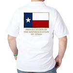 Texas Proud Citizen Golf Shirt