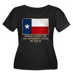 Texas Proud Citizen Women's Plus Size Scoop Neck D