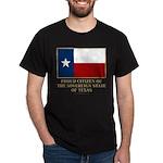 Texas Proud Citizen Dark T-Shirt