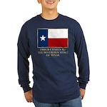 Texas Proud Citizen Long Sleeve Dark T-Shirt