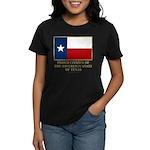 Texas Proud Citizen Women's Dark T-Shirt