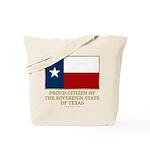 Texas Proud Citizen Tote Bag