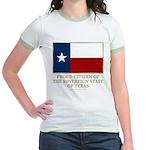 Texas Proud Citizen Jr. Ringer T-Shirt