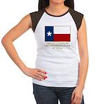 Texas Proud Citizen Women's Cap Sleeve T-Shirt