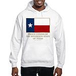 Texas Proud Citizen Hooded Sweatshirt