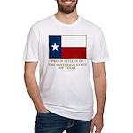 Texas Proud Citizen Fitted T-Shirt