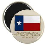 Texas Proud Citizen Magnet