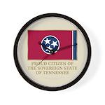 Tennessee Proud Citizen Wall Clock