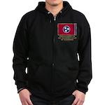 Tennessee Proud Citizen Zip Hoodie (dark)