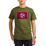 Tennessee Proud Citizen Organic Men's T-Shirt (dar