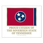 Tennessee Proud Citizen Small Poster