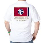 Tennessee Proud Citizen Golf Shirt
