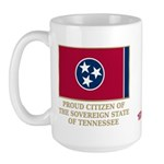 Tennessee Proud Citizen Large Mug