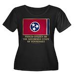 Tennessee Proud Citizen Women's Plus Size Scoop Ne