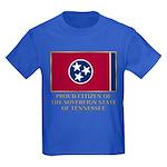 Tennessee Proud Citizen Kids Dark T-Shirt
