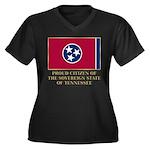 Tennessee Proud Citizen Women's Plus Size V-Neck D