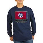 Tennessee Proud Citizen Long Sleeve Dark T-Shirt