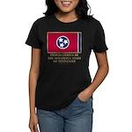 Tennessee Proud Citizen Women's Dark T-Shirt