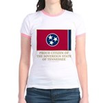 Tennessee Proud Citizen Jr. Ringer T-Shirt