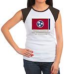 Tennessee Proud Citizen Women's Cap Sleeve T-Shirt