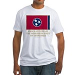 Tennessee Proud Citizen Fitted T-Shirt