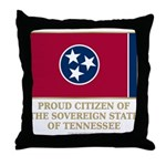 Tennessee Proud Citizen Throw Pillow
