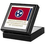 Tennessee Proud Citizen Keepsake Box