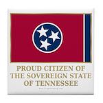 Tennessee Proud Citizen Tile Coaster