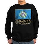 South Dakota Proud Citizen Sweatshirt (dark)