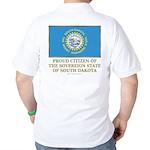 South Dakota Proud Citizen Golf Shirt