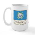 South Dakota Proud Citizen Large Mug