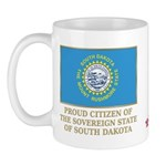 South Dakota Proud Citizen Mug