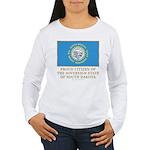 South Dakota Proud Citizen Women's Long Sleeve T-S