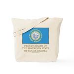 South Dakota Proud Citizen Tote Bag
