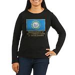 South Dakota Proud Citizen Women's Long Sleeve Dar