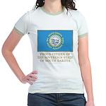 South Dakota Proud Citizen Jr. Ringer T-Shirt