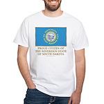 South Dakota Proud Citizen White T-Shirt