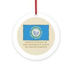 South Dakota Proud Citizen Ornament (Round)