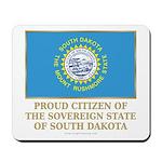 South Dakota Proud Citizen Mousepad