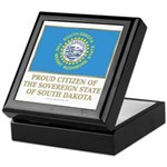 South Dakota Proud Citizen Keepsake Box