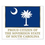 South Carolina Proud Citizen Small Poster