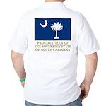South Carolina Proud Citizen Golf Shirt