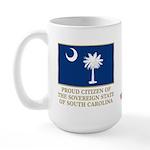 South Carolina Proud Citizen Large Mug