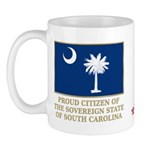South Carolina Proud Citizen Mug