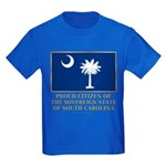 South Carolina Proud Citizen Kids Dark T-Shirt