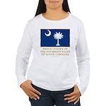 South Carolina Proud Citizen Women's Long Sleeve T